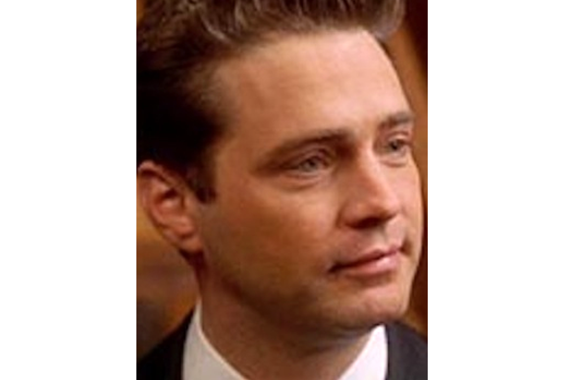 jason priestly film makeup
